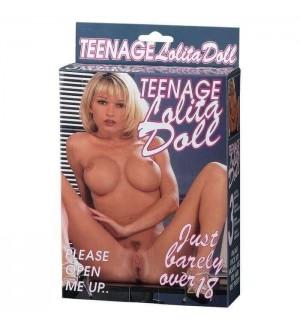 Bambola Gonfiabile Teenage Lolita Doll Blond Hair