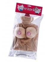 A hot water bottle HOT WATER BOTTLE SEXY BOOBS
