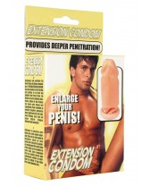 SHEATH FOR THE PENIS SMOOTH PENIS EXTENSION
