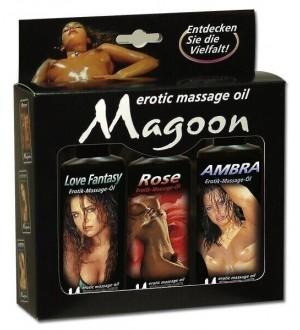Set Oli per Massaggi Magoon - 3 Pezzi