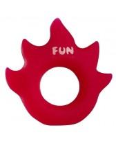 RING PHALLIC FUN FACTORY FLAME - RED