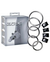KIT RINGS PHALLIC COMPOSED OF 5 PIECES SEXTREME