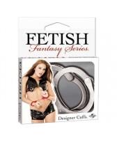 MANETTE FF DESIGNER CUFFS - SILVER FETISH FANTASY