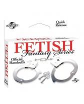 Manette FF Official Handcuffs Metal Fetish Fantasy