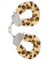 Manette in Peluche Color Leopardo per Giochi Erotici