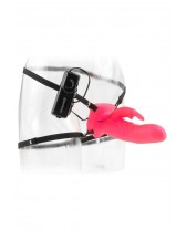 VIBRATOR STRAP-ON WONDERFUL WABBIT STRAP ON PINK