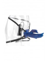 VIBRATOR STRAP-ON DIVING DOLPHIN HOLLOW STRAP ON