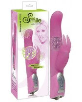 VIBRATOR RABBIT PEARLY BUNNY - SMILE - PINK
