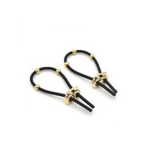 Anello per Pene Pitbull Ring Black Oro