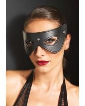Maschera Faux Leather Studded Eye Mask