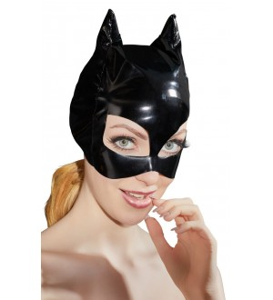 Maschera Gatto in Ecopelle Faux Leather Cat Mask