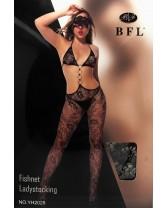 Tuta Sexy Catsuit Sex Aperta ai Fianchi Misura Unica