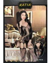 Corset with Suspenders Katia one size