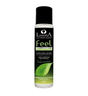 LUBRIFICANTE LUXURIA FEEL - FRESH SENSATION - 60 ML
