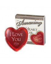 MASSAGGIATORE THE AMAZING HOT HEART MASSAGER - I LOVE YOU
