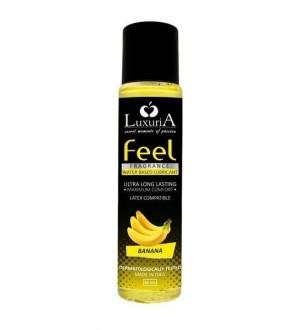 Lubrificante Luxuria Feel Fragance - Banana - 60 ml