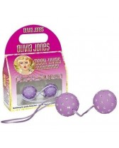 BALLS OF PLEASURE OLIVIA JONES DISK QUEEN - PURPLE